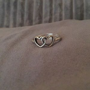 Two Hearts Together James Avery Ring